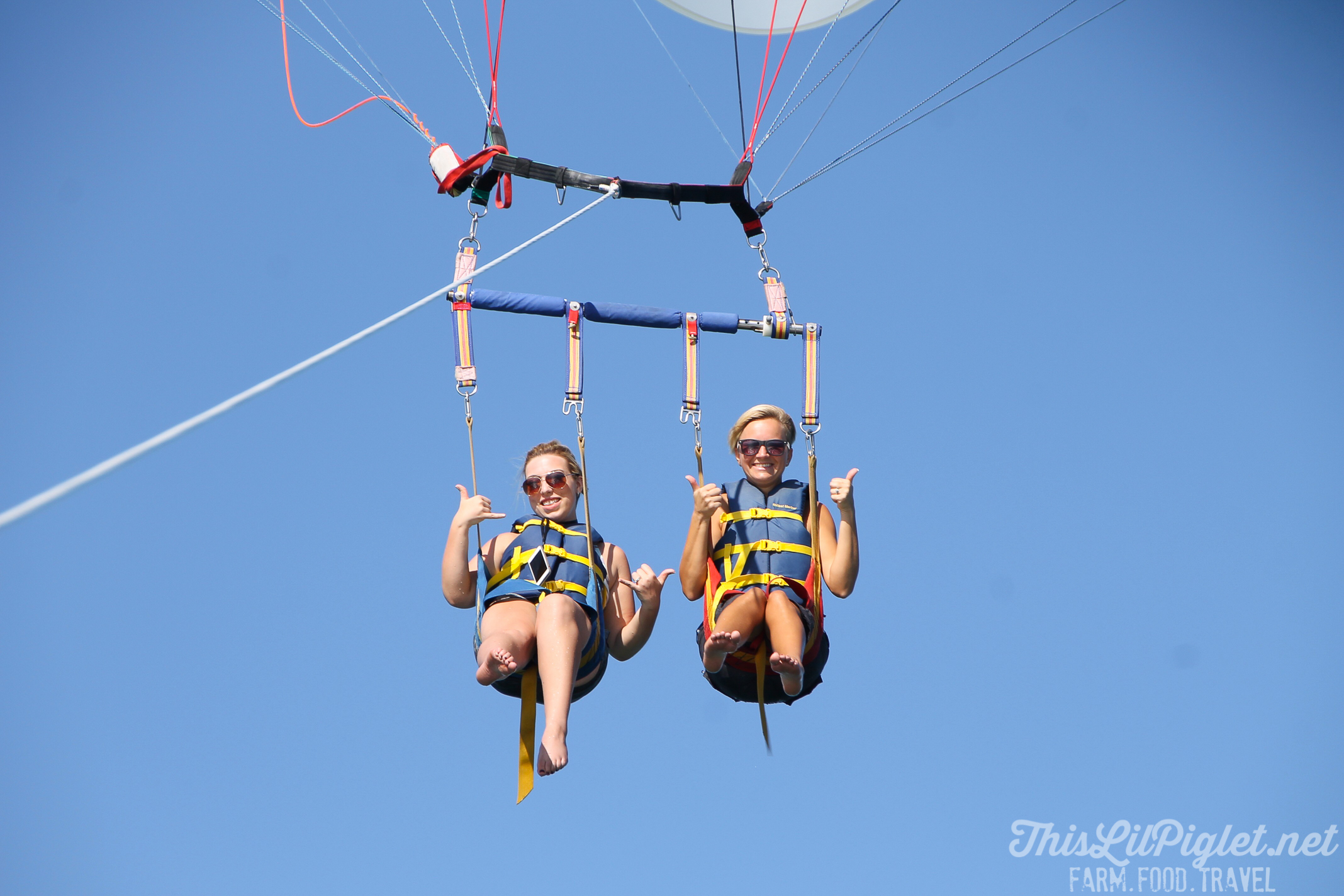 Bucket List Travel Destination: Key West Florida What to Do - Parasailing with Fury Adventures // thislilpiglet.net