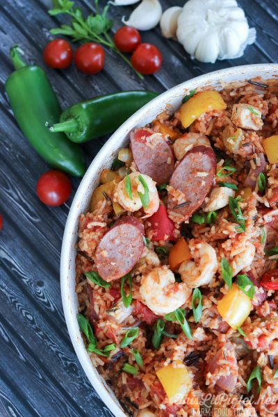 One Pot Meals: Jambalaya with Wild Rice