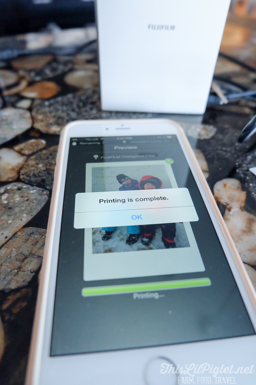 Making Instant Memories Instax SP-2 Printer Review - Smartphone App // thislilpiglet.net