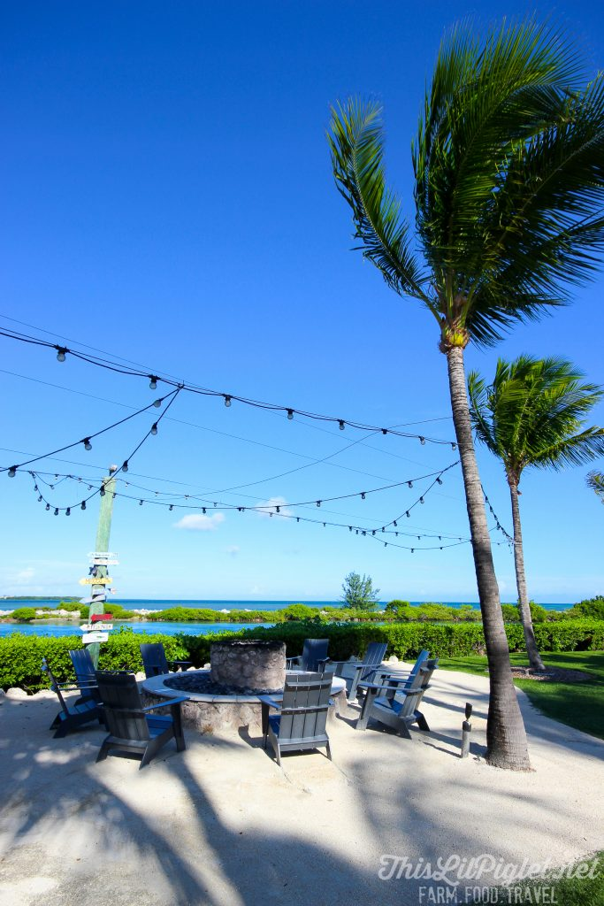 Luxury Family Travel at Hawks Cay Resort Fire Pit in the Florida Keys // thislilpiglet.net