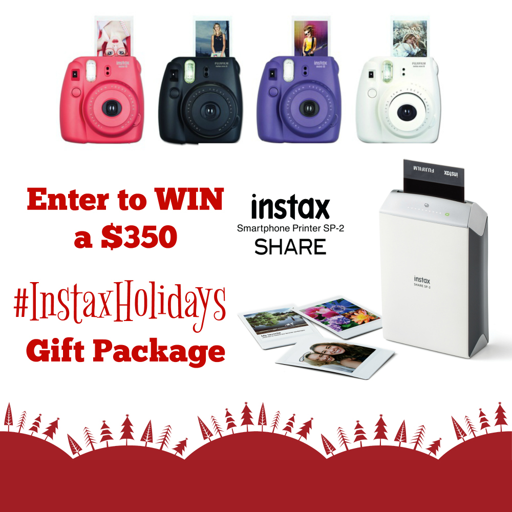 Making Instant Memories Instax SP-2 Printer Review - Instax Gift Package Giveaway // thislilpiglet.net