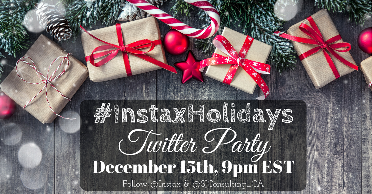 Making Instant Memories Instax SP-2 Printer Review - Instax Holidays Twitter Party // thislilpiglet.net