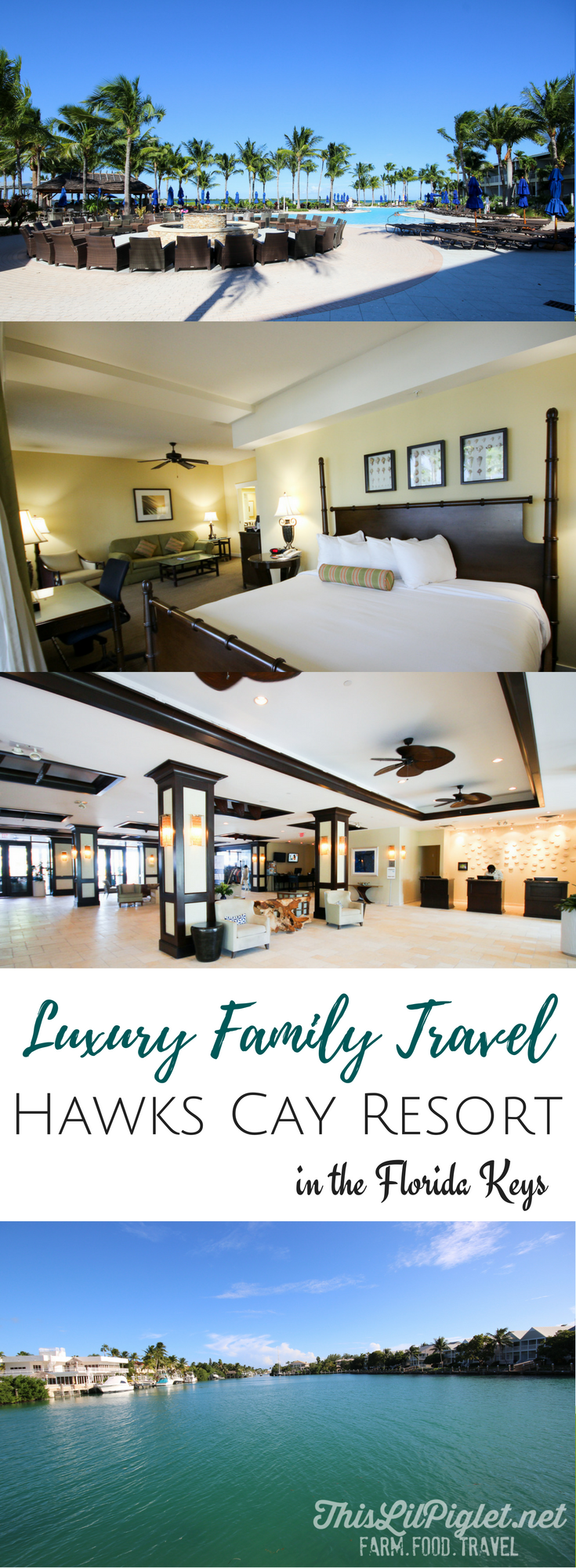 Luxury Family Travel at Hawks Cay Resort in the Florida Keys // via @thislilpiglet