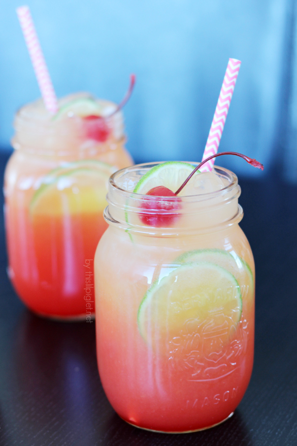 60 New Year's Recipes: New Year's Mocktails // thislilpiglet.net