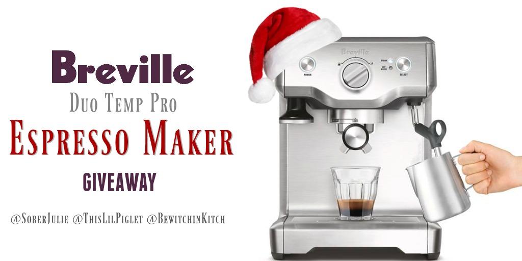 Breville Espresso Maker Holiday Giveaway // thislilpiglet.net