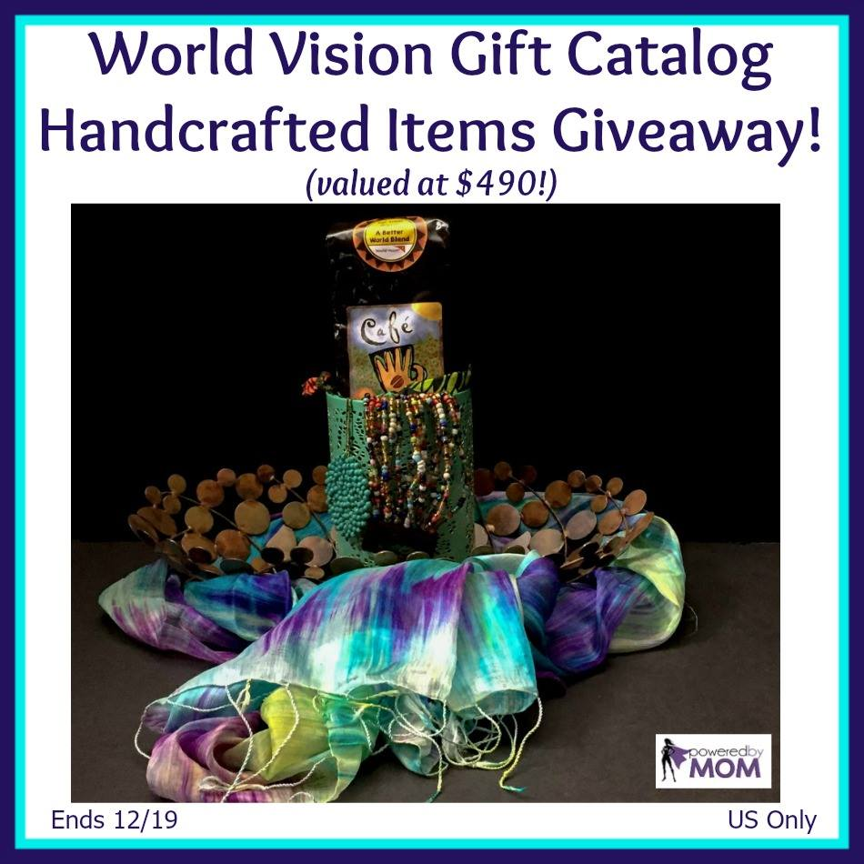 2016 World Vision Gift Catalog Handcrafted Gift Ideas Giveaway // thislilpiglet.net