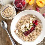 Healthy Breakfast Ideas: Cranberry Buckwheat Porridge