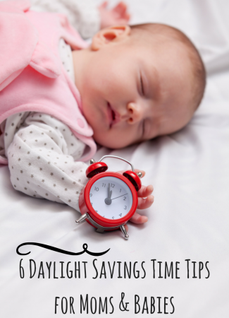6 Daylight Savings Time Tips for Moms & Babies // This Lil Piglet