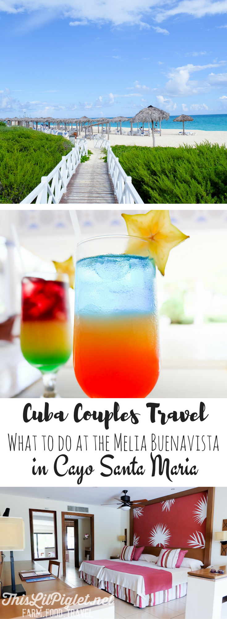 Cuba Couples Travel: What to do at the Melia Buenavista Cayo Santa Maria // thislilpiglet.net