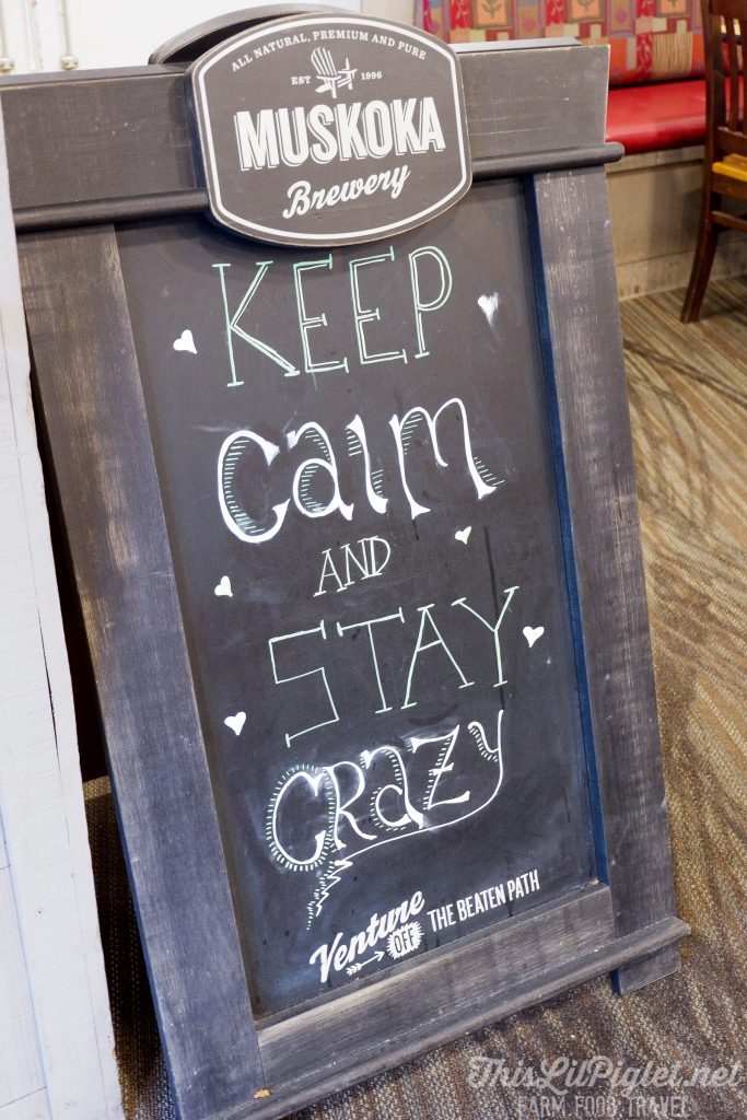 Family Travel Winter Destination: Where to Eat - Crazy Horse Bar and Grill Keep Calm and Stay Crazy at Horseshoe Resort // thislilpiglet.net