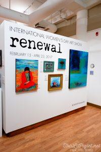 Winter Travel Bucket List: What to Do - Orillia Art and History Museum International Women's Day Art Show // thislilpiglet.net
