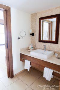Cuba Couples Travel: Melia Buenavista Hotel Junior Suite Bathroom // thislilpiglet.net