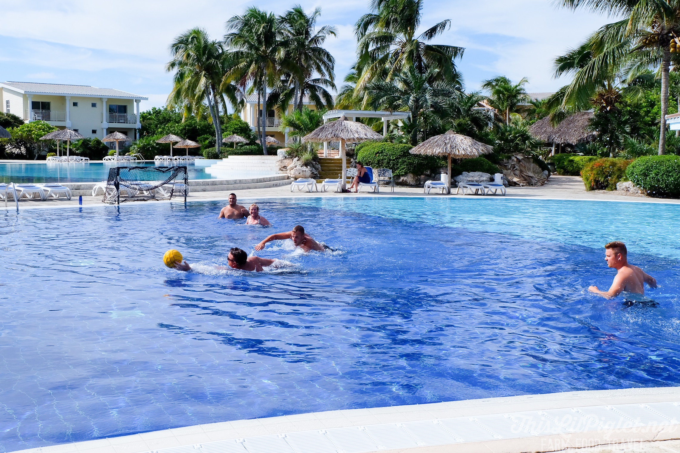 Cuba Couples Travel: Melia Cayo Santa Maria Water Polo // thislilpiglet.net