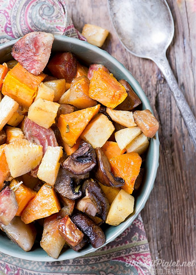 Easy Garlic Roasted Vegetables Side Dish This Lil Piglet