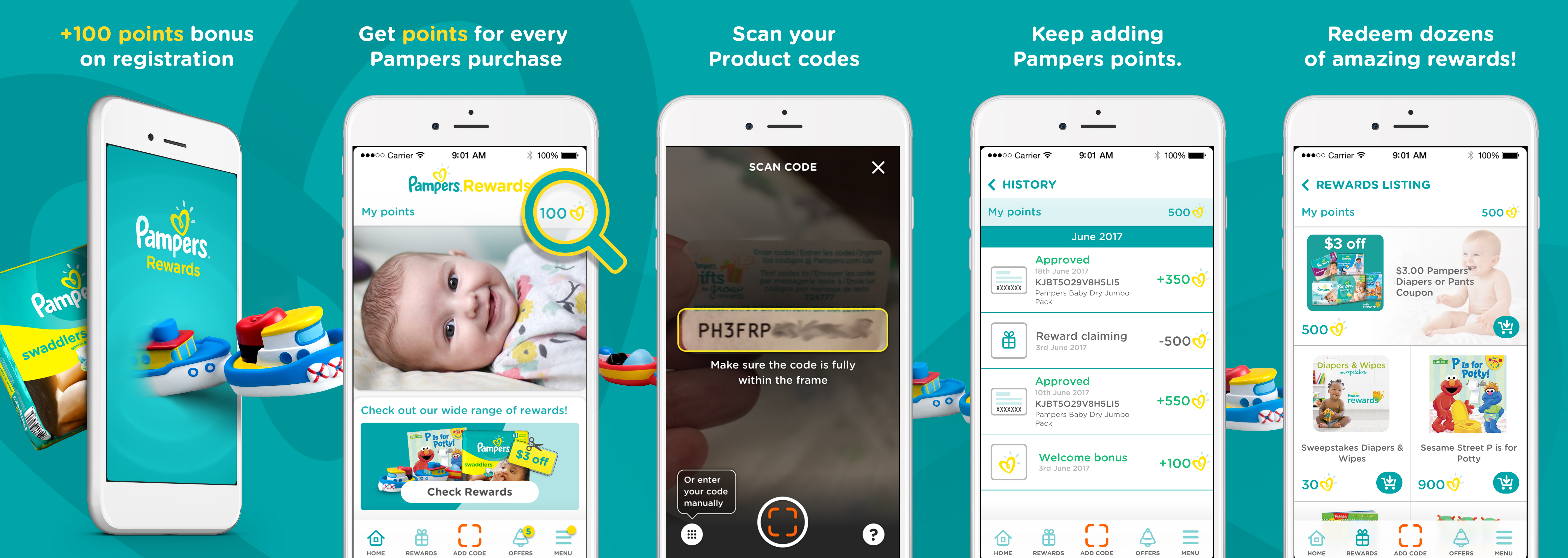 5 Summer Hacks for Mom and Baby - Pampers Rewards App // thislilpiglet.net