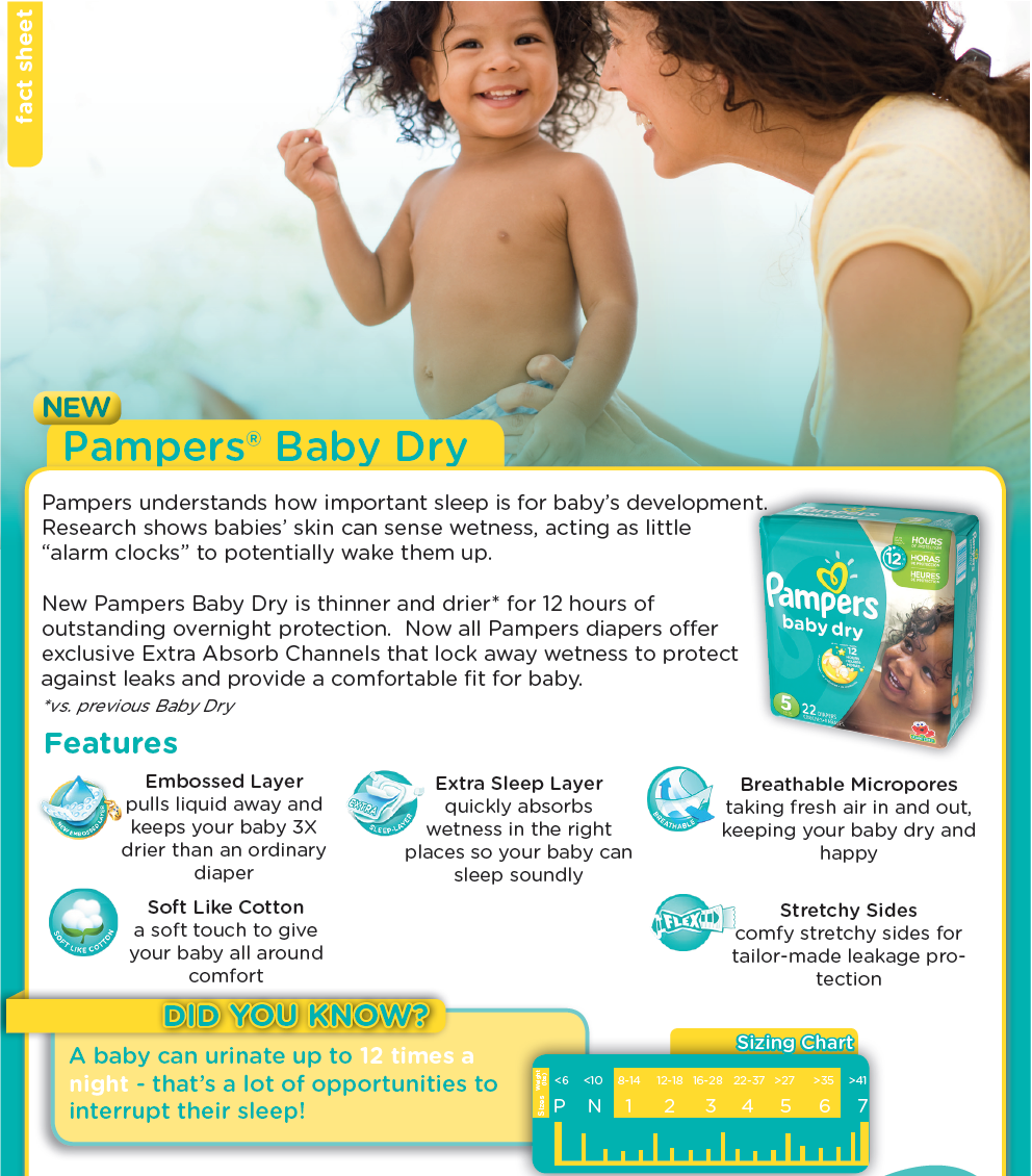 Summer Sleep Routine - Pampers Baby Dry Diapers // thislilpiglet.net