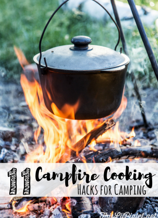 11 Campfire Cooking Hacks for Camping // thislilpiglet.net