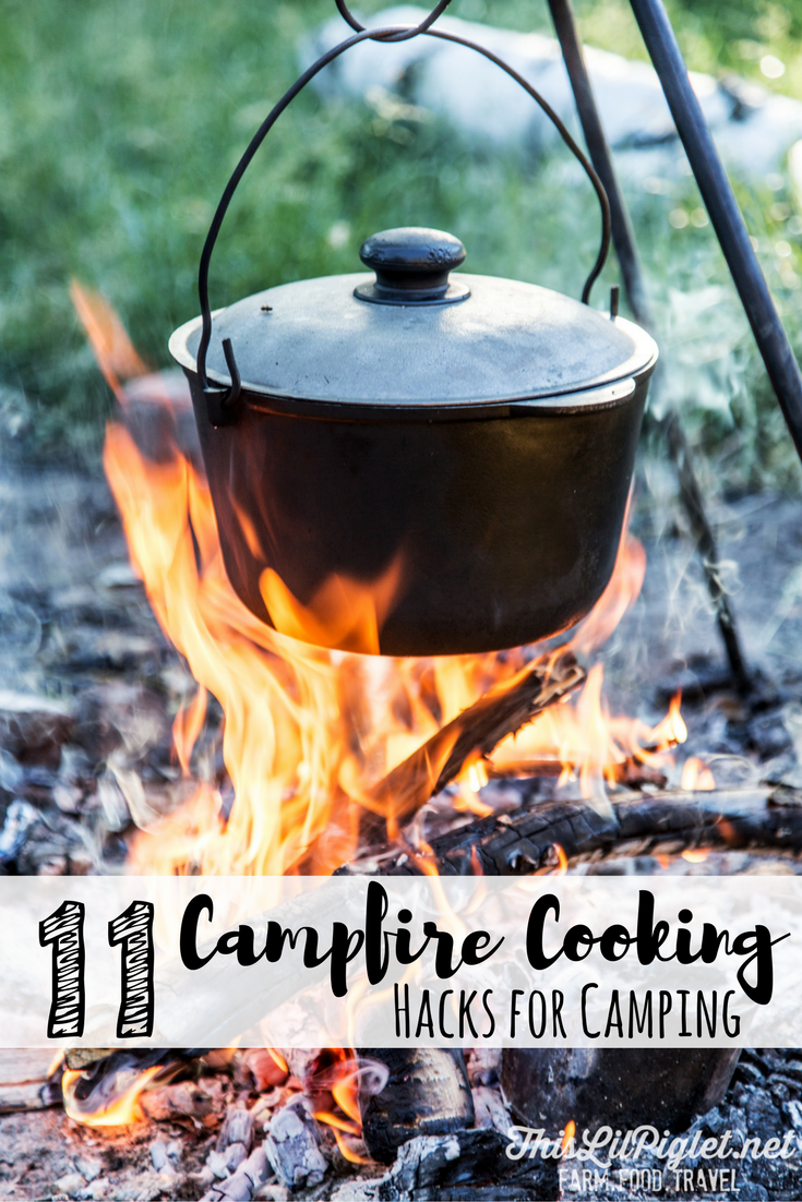 how to build a campfire for cooking