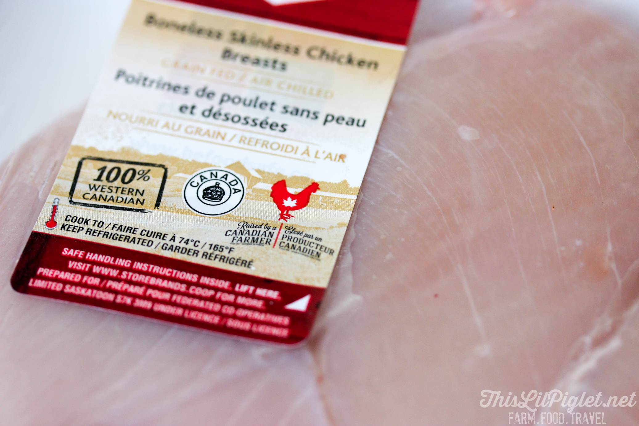 Garlic Paprika Chicken - Raised by a Canadian Chicken Farmer // thislilpiglet.net