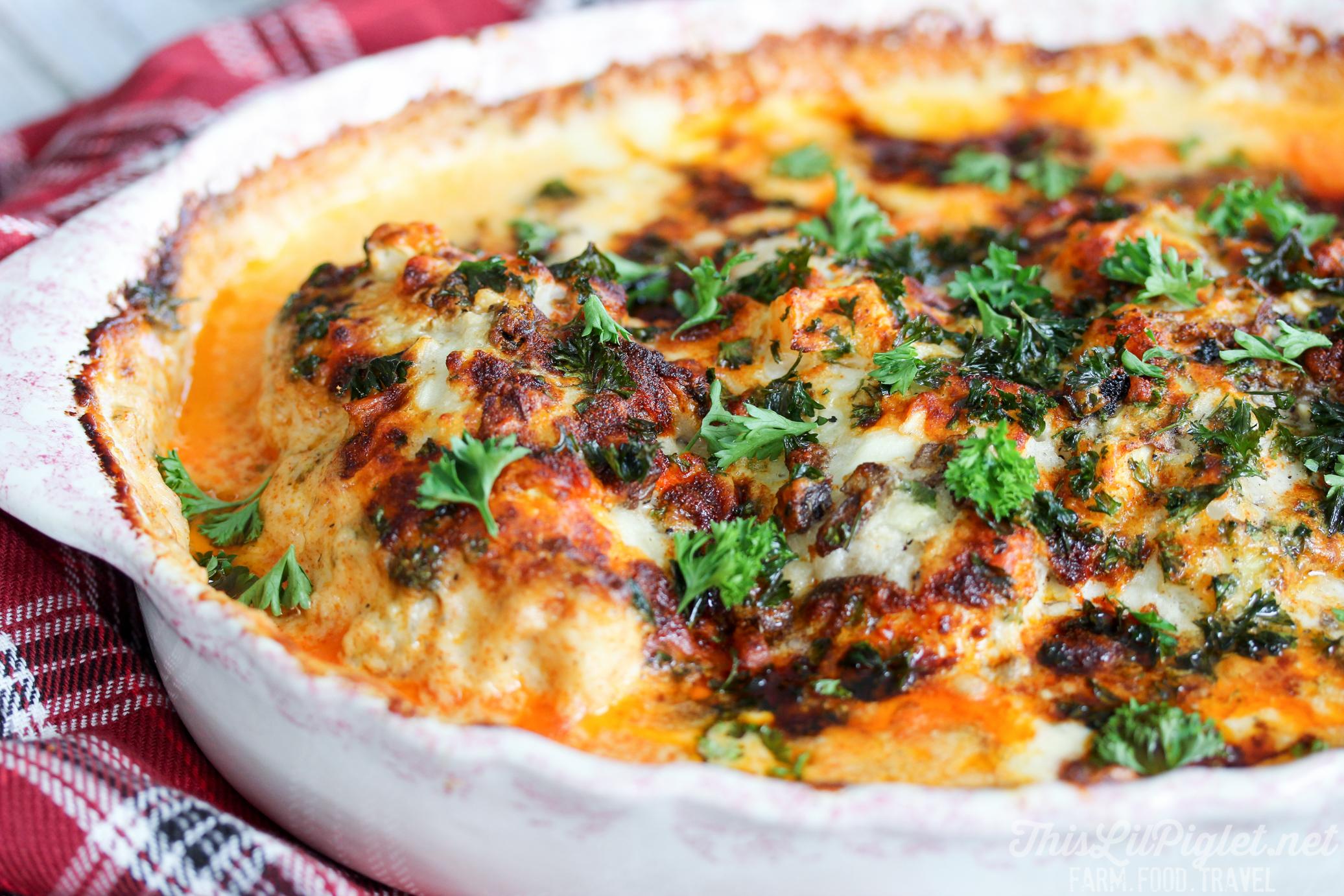 Garlic Paprika Chicken Baked // thislilpiglet.net
