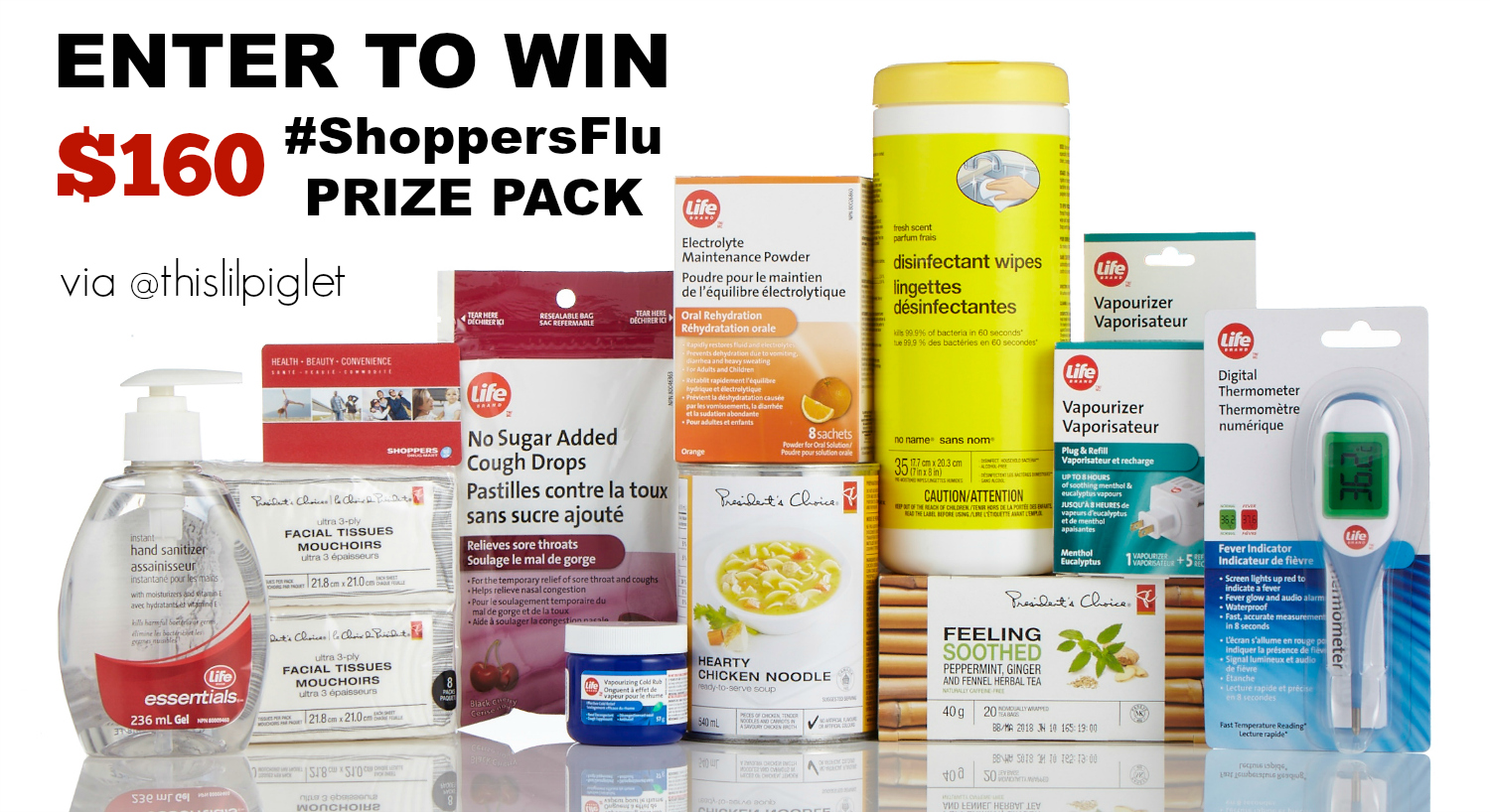 Shoppers Flu Myths Giveaway // thislilpiglet.net