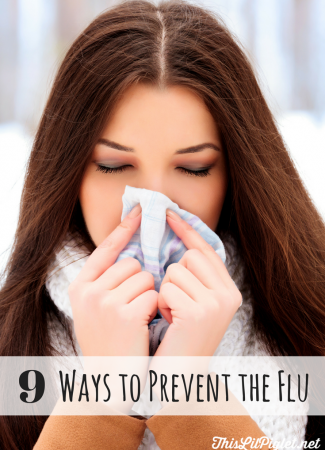 9 Ways to Prevent the Flu Starting with the Flu Shot // thislilpiglet.net