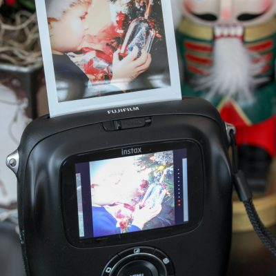 Creating Holiday Story Memories with Instax