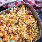 Chicken Sausage Lazy Breakfast Casserole