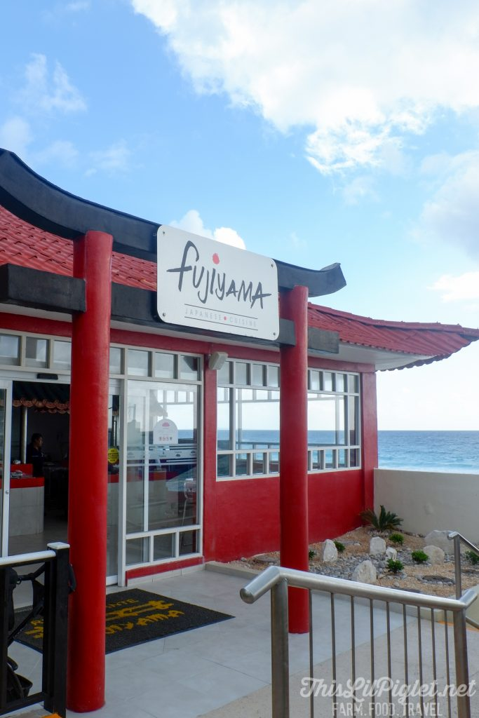 Family Vacations for All Ages at Cancun Paradise Club Resort: What to Eat - Fujiyama Sushi House // thislilpiglet.net
