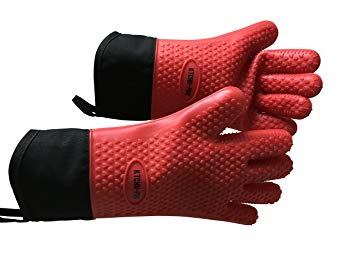 Grill BBQ/Oven Silicon Gloves in 5 Vibrant Colours