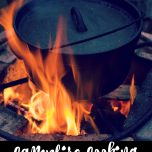Campfire Cooking: How to Build a Cooking Fire // thislilpiglet.net