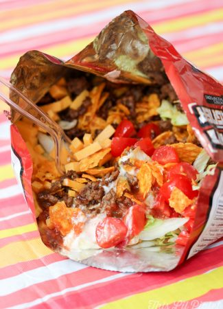 Campfire Taco in a Bag // thislilpiglet.net
