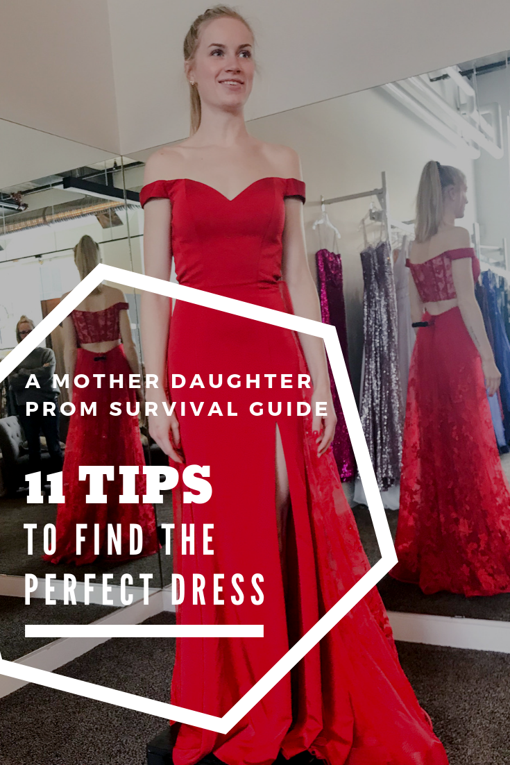 A Moms Prom Survival Guide: 11 Tips to Find the Perfect Dress // thislilpiglet.net
