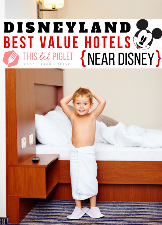 Disneyland Best Value Hotels Near Disney // thislilpiglet.net